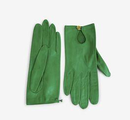 Chanel Green Gloves | VAUNTE