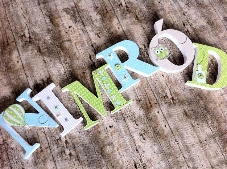NIMRÓD egyedileg díszített polisztirol habbetűk igény szerinti színvilággal és egyéni/egyedi stílusban rendelhetők.  A betűk 19cm magasak és a 3cm szélesek. #### name, letters handmade, baby, gift ,név, betűk, kézzel készült, bébi, ajándék...