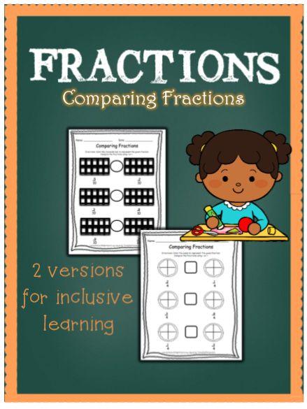 comparing fractions, common denominators