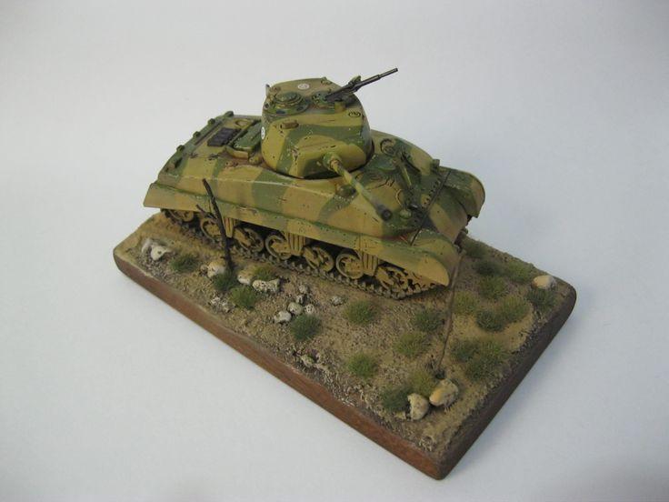 mi sherman M4A1 escala 1/72
