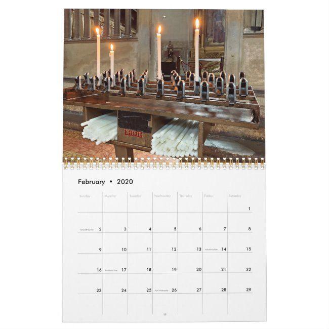 Italy Calendar 2020 Zazzle Com Calendar Shop Calendar 2020 Italy
