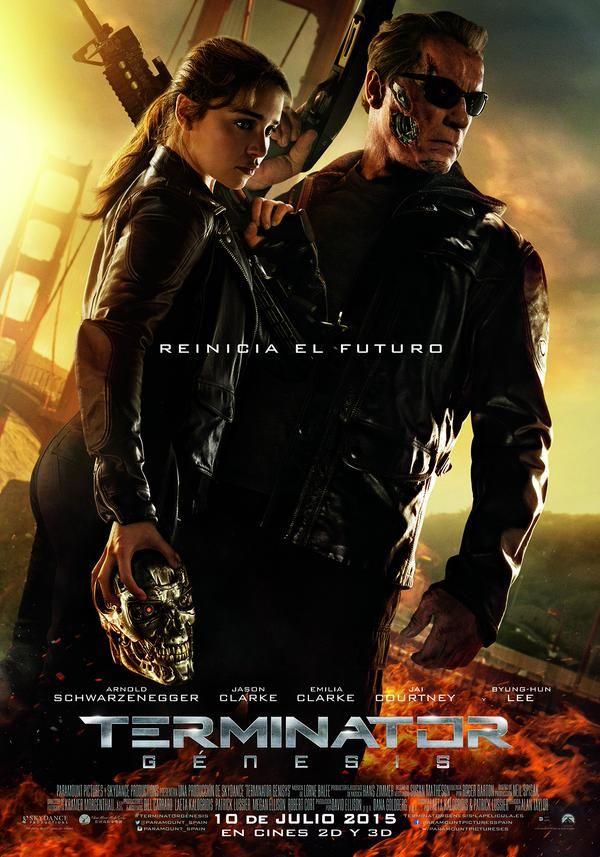 Terminator Génesis, nuevo cartel con Arnold Schwarzenegger y Emilia Clarke - http://www.cinecritico.es/news-item/terminator-genesis-nuevo-cartel-con-arnold-schwarzenegger-y-emilia-clarke/