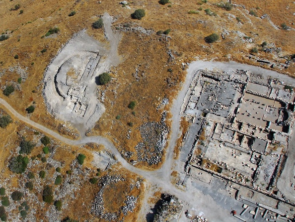 Three clay figurines of Aphrodite were found at the site when excavators exposed a shop in the south-eastern corner of the forum district of Sussita, a town that was built by the Romans in the 2nd century BC and existed through the Byzantine era till it was destroyed by the earthquake of 749 AD. The institute's researchers believe the figurines were hidden during the era of the Roman Empire's transition to Christianity.