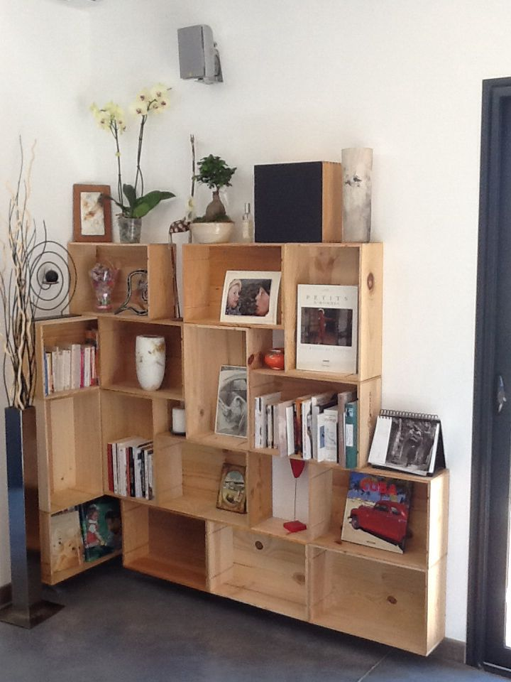 25 best bibliotheque angle ideas on pinterest bricolage d 39 tag re d 3 - Etagere modulable ikea ...