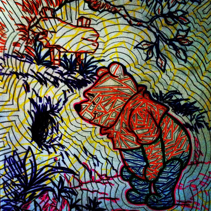 Pooh in new light