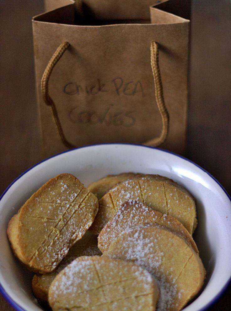 appelsiinejahunajaa: Kikhernecookiet