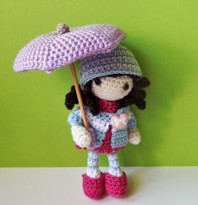 Amigurumi autumn girl ༺✿ƬⱤღ✿༻: