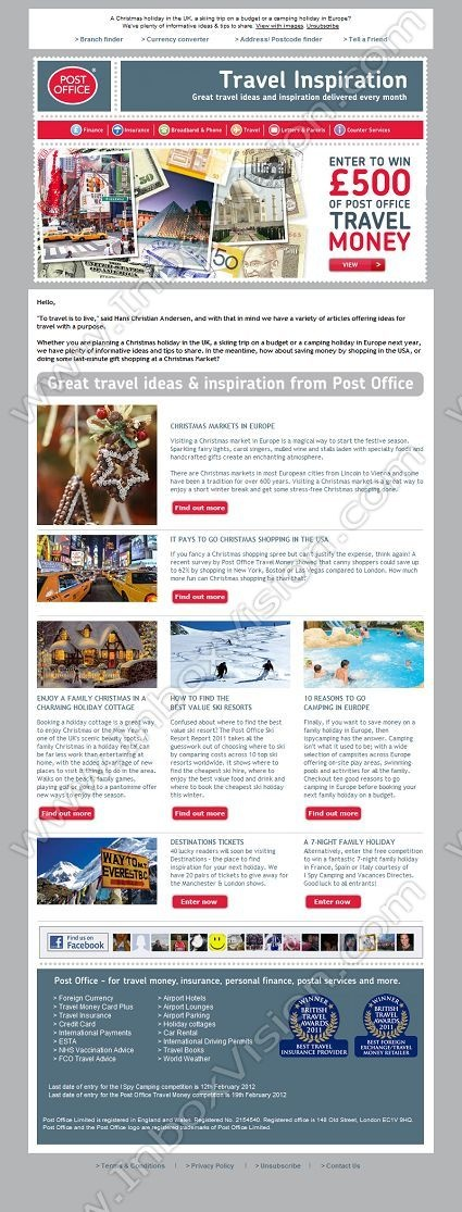 19 best Email Design Prize Draws images on Pinterest Messages - example of newsletter templates