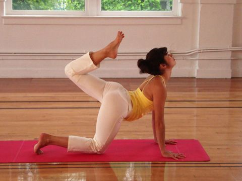 one of my favorite morning yoga routines - Surya Morning Flow with Clara Robers-Oss (myyogaonline.com)