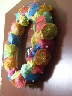 Summertime Umbrella Wreath