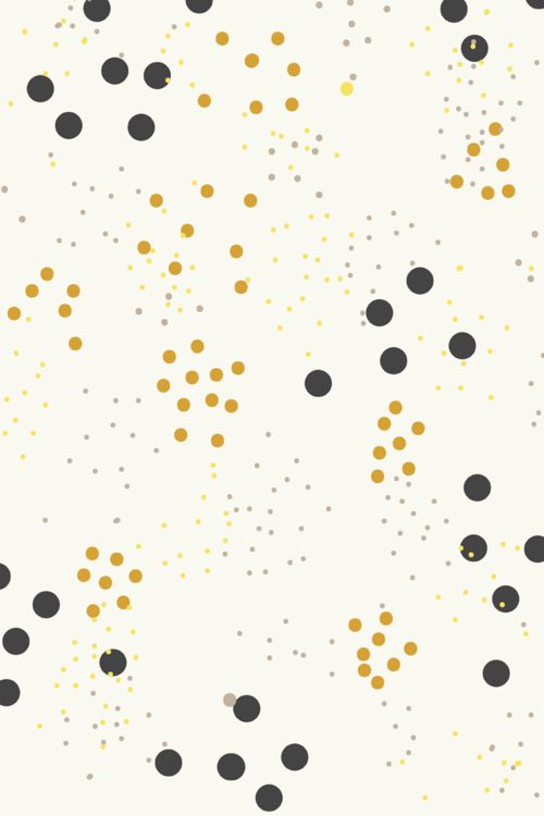 Pattern by Hello Nobo - Yellow and black dots
