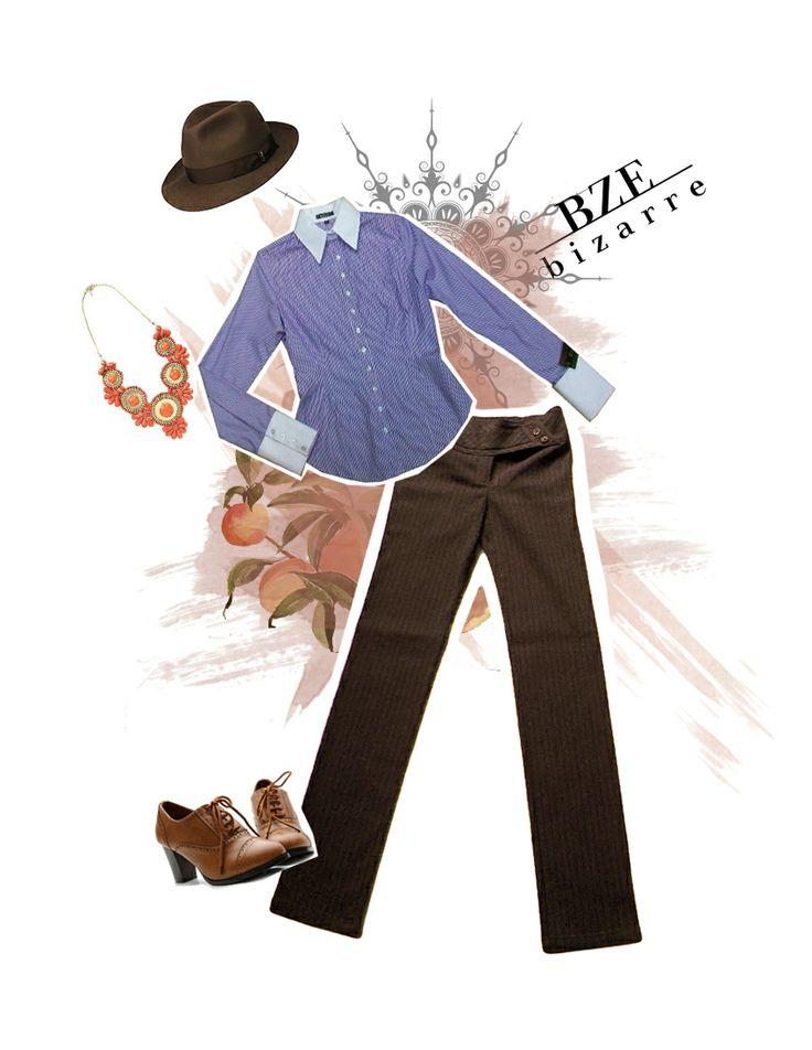 Arma el Look con BIZARRE 2013 II  Camisa: $106.000 Pantalón: $119.000