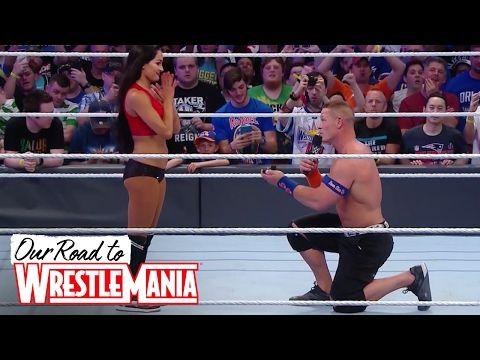 John Cena and Nikki Bella are engaged! ❤ - YouTube