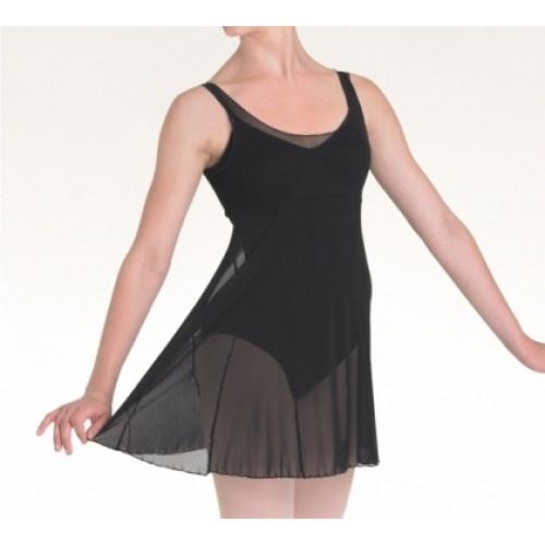 Bloch Emerge Nylon Mesh Dance Dress  Bloch Emerge Nylon Mesh Dance Dress.  Fabric: Nylon Mesh  Colour: BlackBlack  **leotard is not included  Price: 16.50€