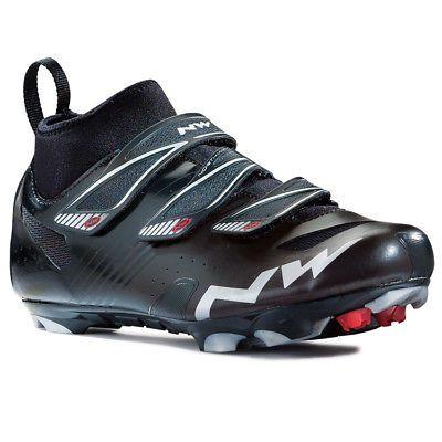 New Northwave Hammer CX Matte Black MTB Shoe Eur 39 US 7