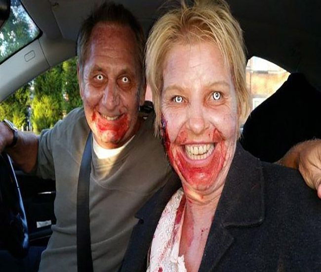 Blood Soaked Zombies spotted, sparks Police alert  #BloodSoaked #Police #news