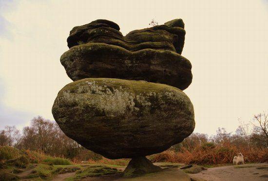 Brimham Rocks near Nidderdale, Yorkshire Dales, England