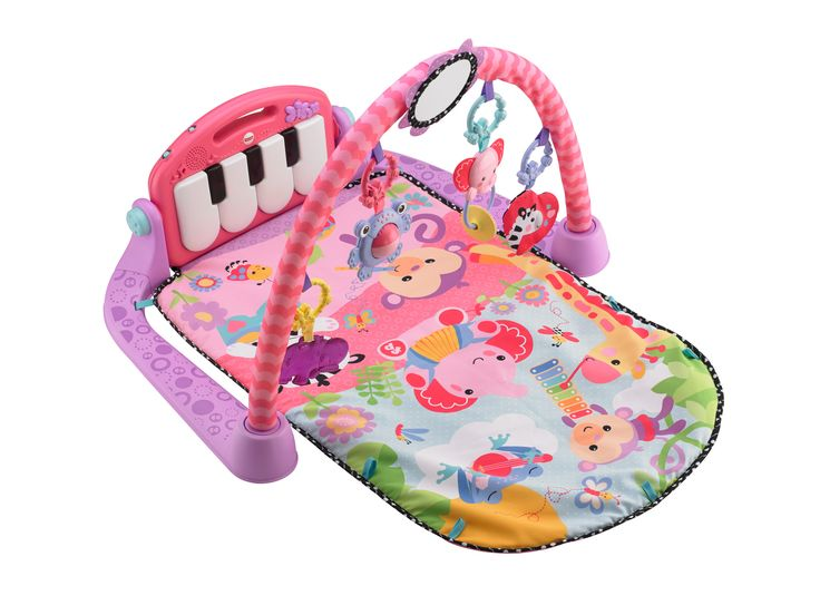 Fisher-Price Kick and Play Piano Pink Gym https://www.everything4youbabies.com/index.php/catalog/product/view/id/737/s/fisher-price-kick-and-play-piano-pink-gym/ #gymstummytimeplaymats #activitygyms