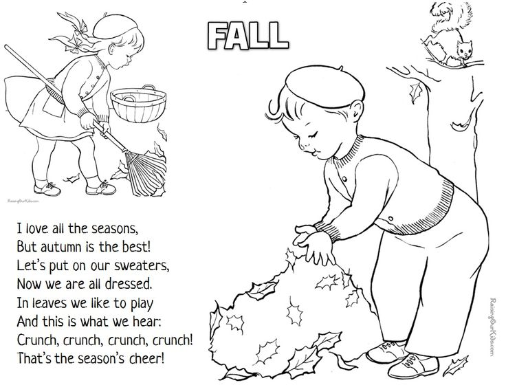 fall harvest poems for preschoolers | FALL POEMS