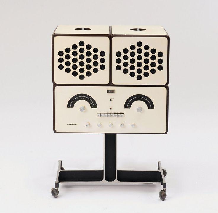 Radiofonografo:  Brionvega RR126 - Radiofonografo: Brionvega RR126: Ob Rock oder Oper, die Revolution im Wohnzimmer heißt RR126. Keiner hat in den Sechzigern bei Radios, Fernsehern und Hifi-Anlagen so konsequent auf Design gesetzt wie Brionvega.