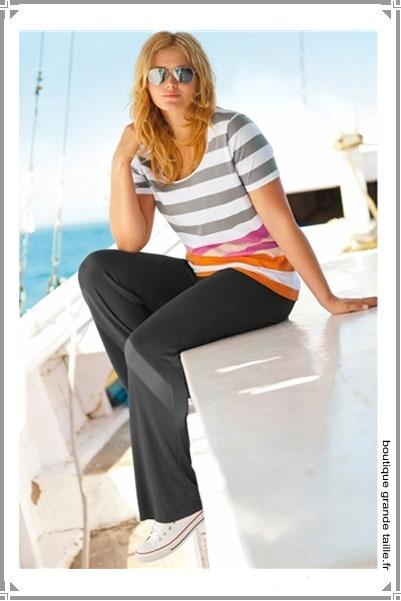 21 best pantalon femme ronde ajustable images on pinterest pants tunics and au. Black Bedroom Furniture Sets. Home Design Ideas