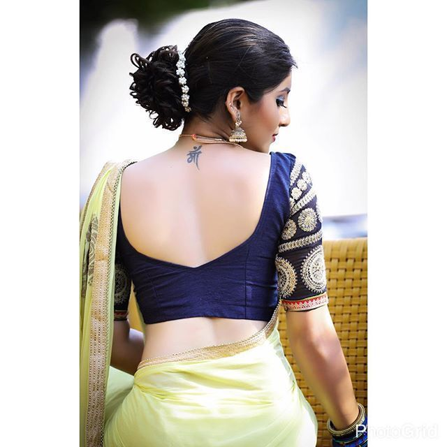 #IndianFashion: Beautiful minty #Saree, blouse in royal blue n gold, Hair, Jewelry... via @sunjayjk - red sheer blouse, womens sleeveless tops blouses, cream sleeveless blouse *sponsored https://www.pinterest.com/blouses_blouse/ https://www.pinterest.com/explore/blouse/ https://www.pinterest.com/blouses_blouse/black-blouse/ https://www.everlane.com/collections/womens-tops