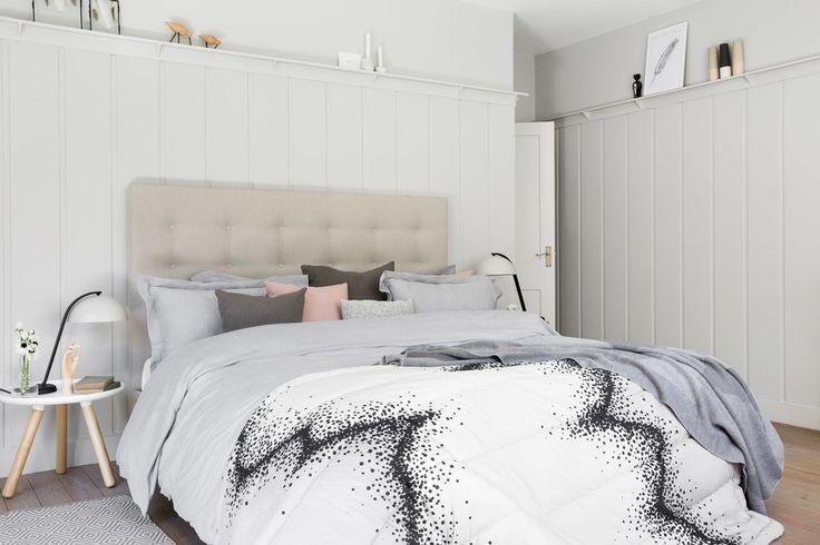Blush Pink Grey Bedroom Ideas