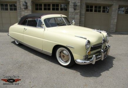 1949 Hudson Commodore 8 Brougham Convertible
