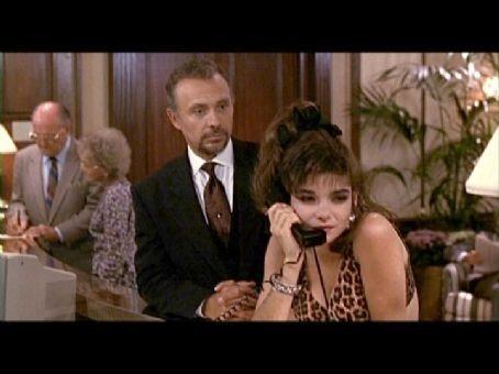 """Laura San Giacomo (Kit De Luca) and Hector Elizondo (Barnard """"Barney"""") - Pretty Woman, 1990"""