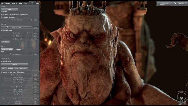 WIP Goblin King - Marmoset Toolbag