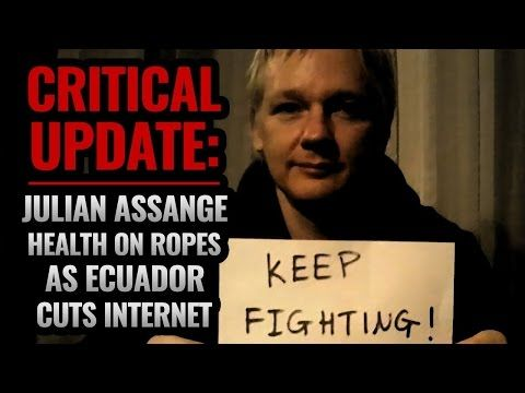 Julian Assange Could Be Going Out With A Bang! #whereisassange - YouTube