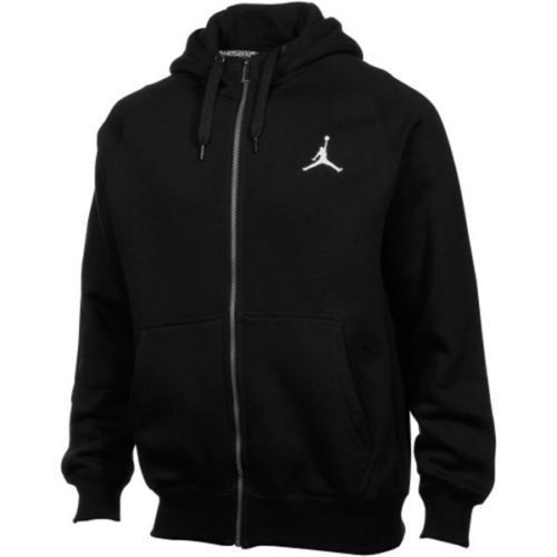 NIKE AIR JORDAN MEN'S ALL DAY Full Zip Hoodie Sweatshirt BLK SZ L [657503 010]  #Jordan #Hoodie