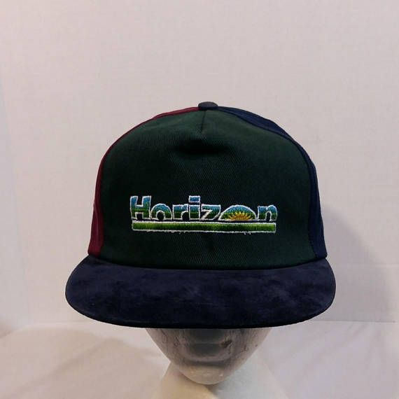 Horizon DyVel VTG Dad Baseball Truckers Hat Cap Strapback