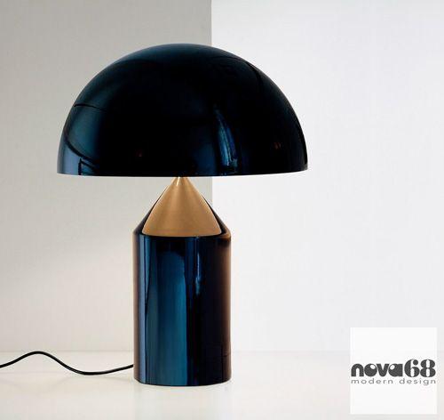 Oluce Vico Magistretti Atollo Lamp 233 Classic
