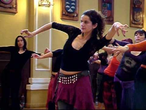 Danza Tribal con Victoria Vásquez en Compañía Al Nahir - YouTube