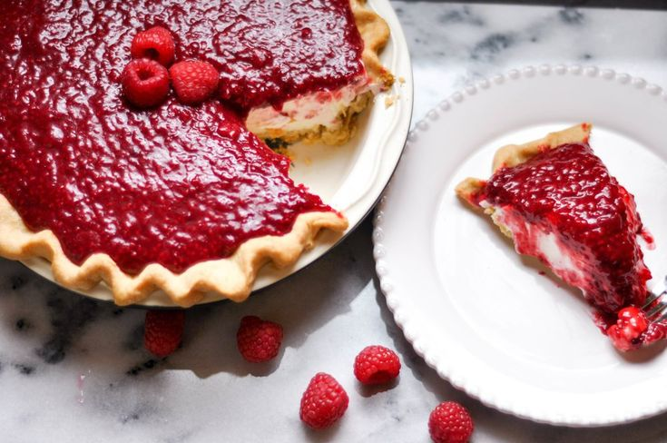 Copycat Briermere Farms Raspberry Cream Pie MAKE LOW CARB