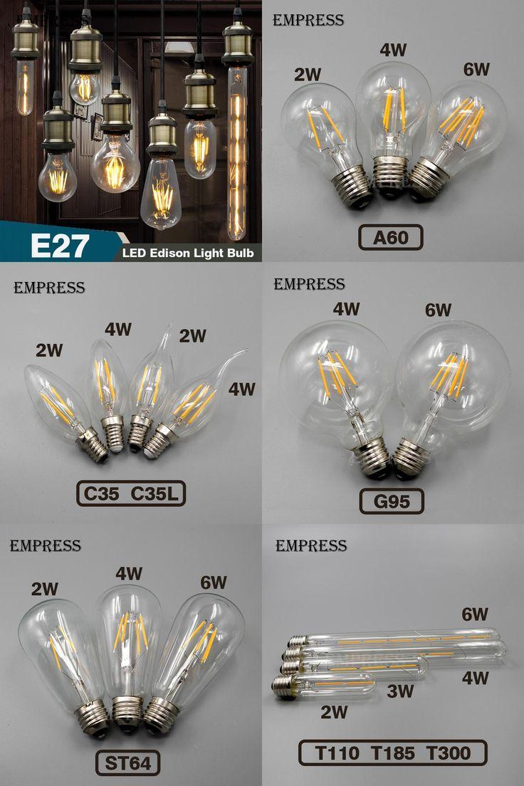 Vintage edison bulb old fashioned lamp classic a60 led 2w or 4w -  Visit To Buy Retro Lamp Led Edison Bulb E27 Filament Lamp E14 Glass Bulb