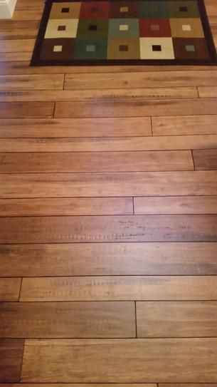 Home Decorators Collection Strand Woven Distressed Dark Honey 1 2 in  T x  Multi Width x 72 in  L Solid Bamboo Flooring. Best 25  Strand bamboo flooring ideas on Pinterest   Bamboo floor