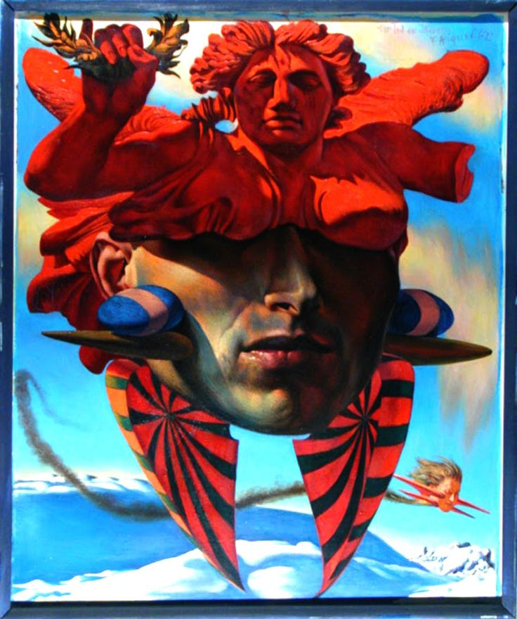 Surrealism and Visionary art: Fritz Aigner