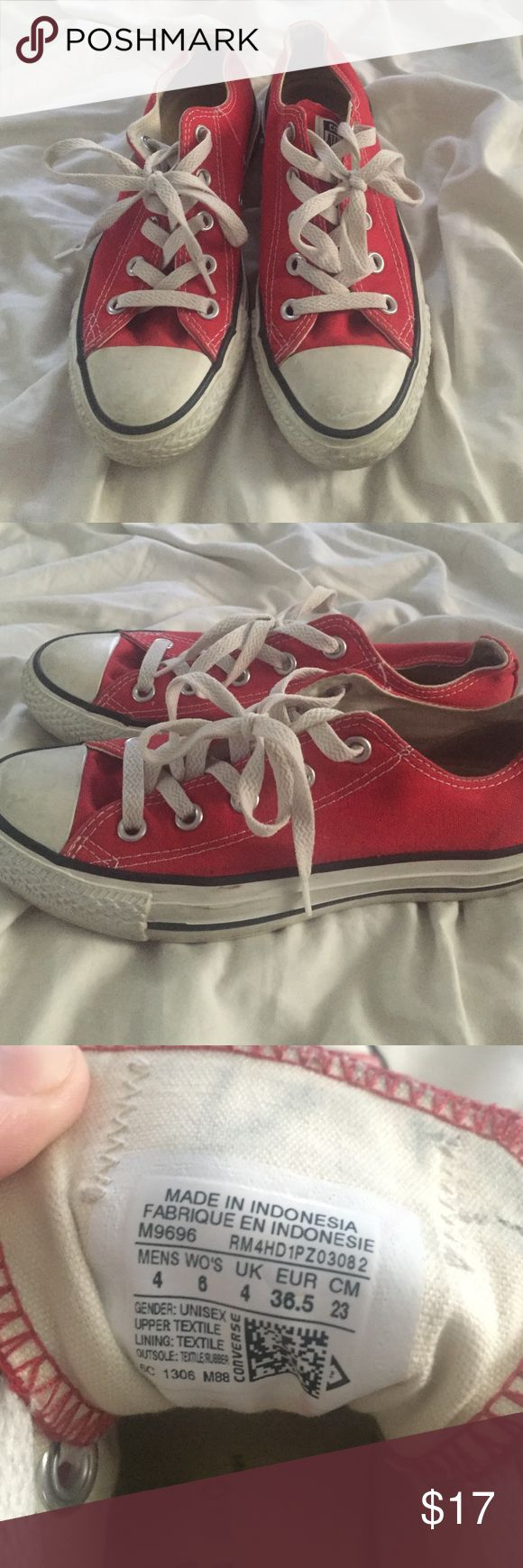 Converse Red Converse Converse Shoes Sneakers