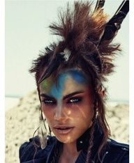 mad max makeup - used this as an idea for a costume and it looked awesome