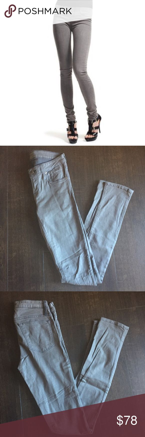 Helmut Lang Wax Coated Jeans / Leggings Helmut Lang wax coated skinny jeans. Super soft and a bit of stretch. Great condition. Offers and questions welcome!! Helmut Lang Jeans Skinny