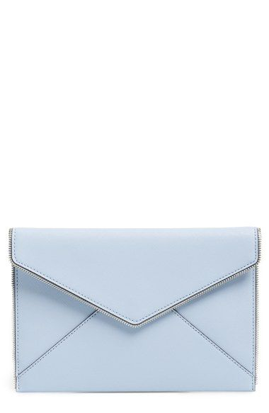 Rebecca Minkoff 'Leo' Envelope Clutch available at #Nordstrom