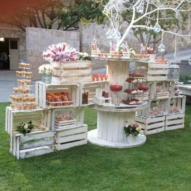 18+ Creative Wedding Dessert Bar Ideas