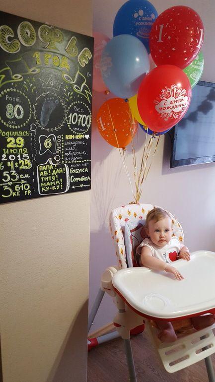 Нам годик! Опыт празднования - Годовасие - сообщество на Babyblog.ru - нам годик