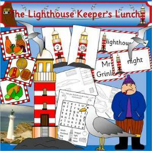 The Lighthouse Keeper's Lunch Resource Pack