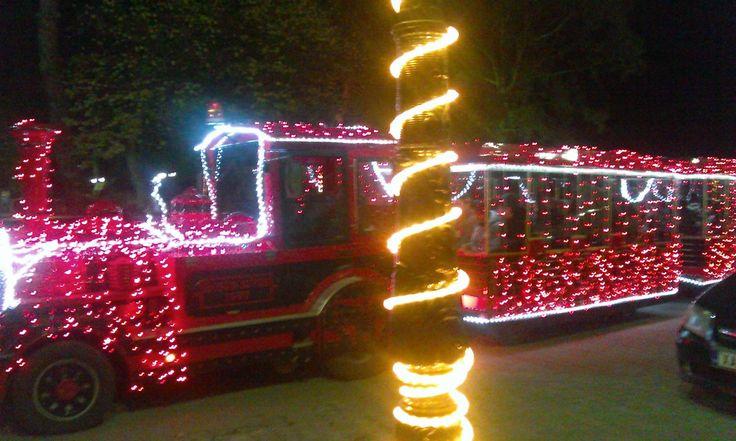 Our #Christmas train! #ThermaeSylla #Xmas14