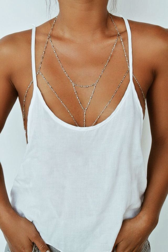 Necklace and body chain