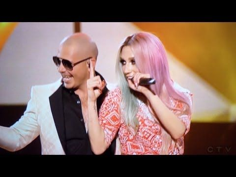 "Pitbull & Kesha ""Timber"" Performamce - American Music Awards 2013"