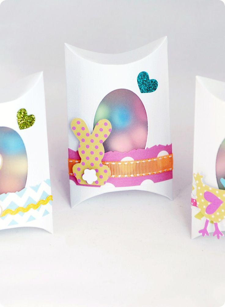 Les Pillow Box de Pâques - Création Sixtine Thomas-Richard pour Toga - tutoriel DIY